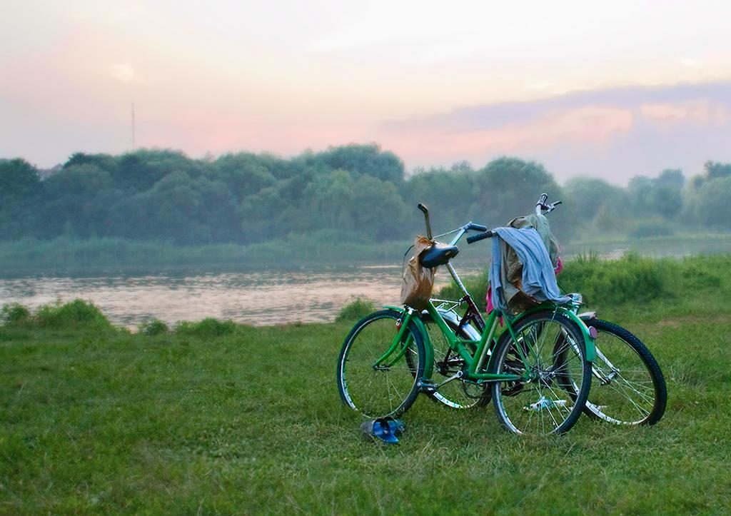 картинка два велосипеда прикупила супермаркете упаковочку