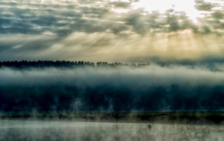 Раннее утро на реке