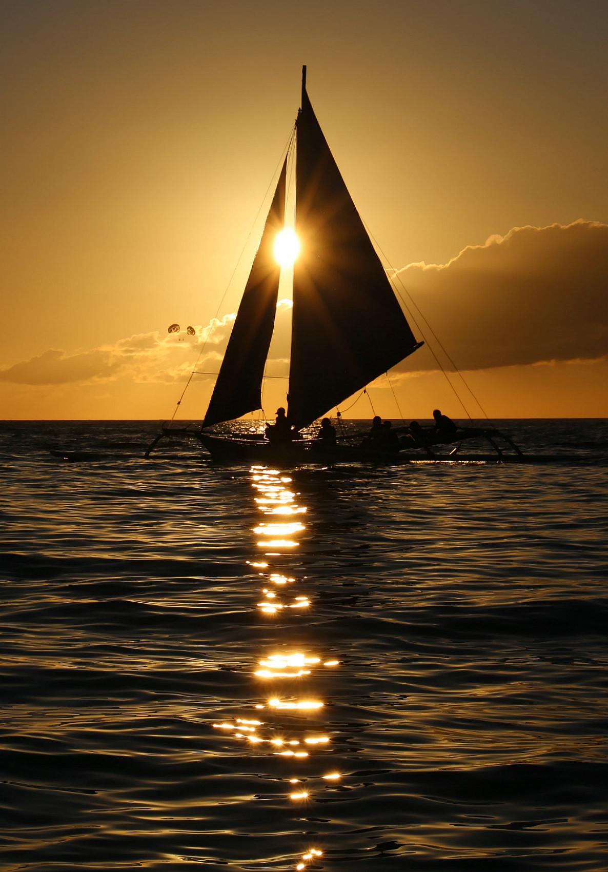 Солнце в парусах