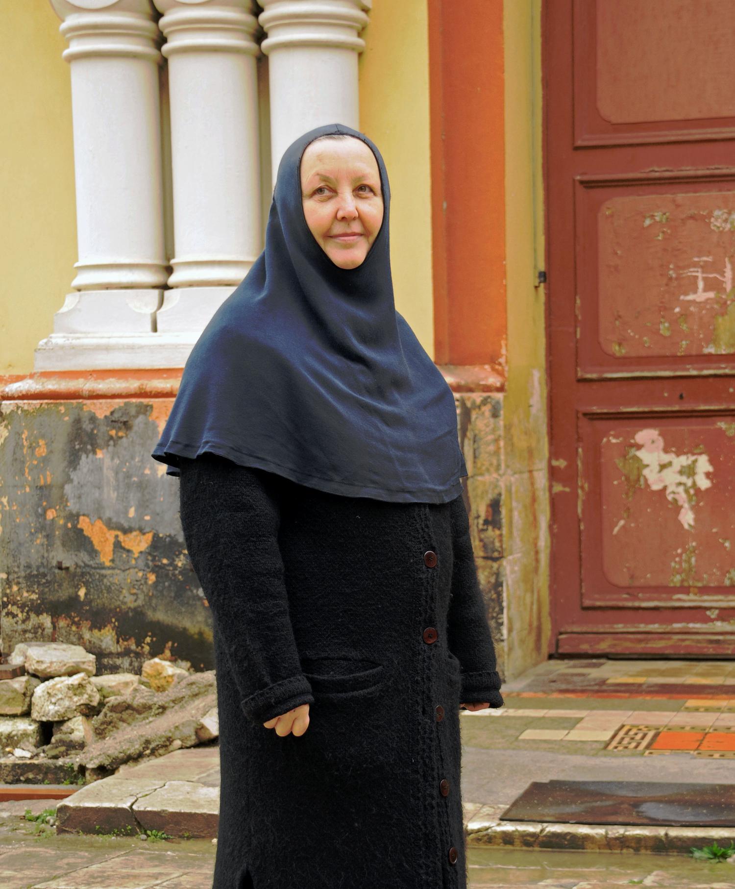 Лица НовоАфонского монастыря.