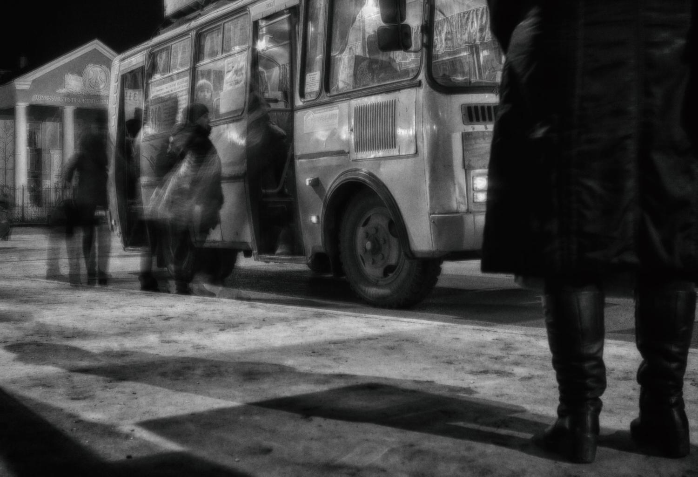 Последний автобус...
