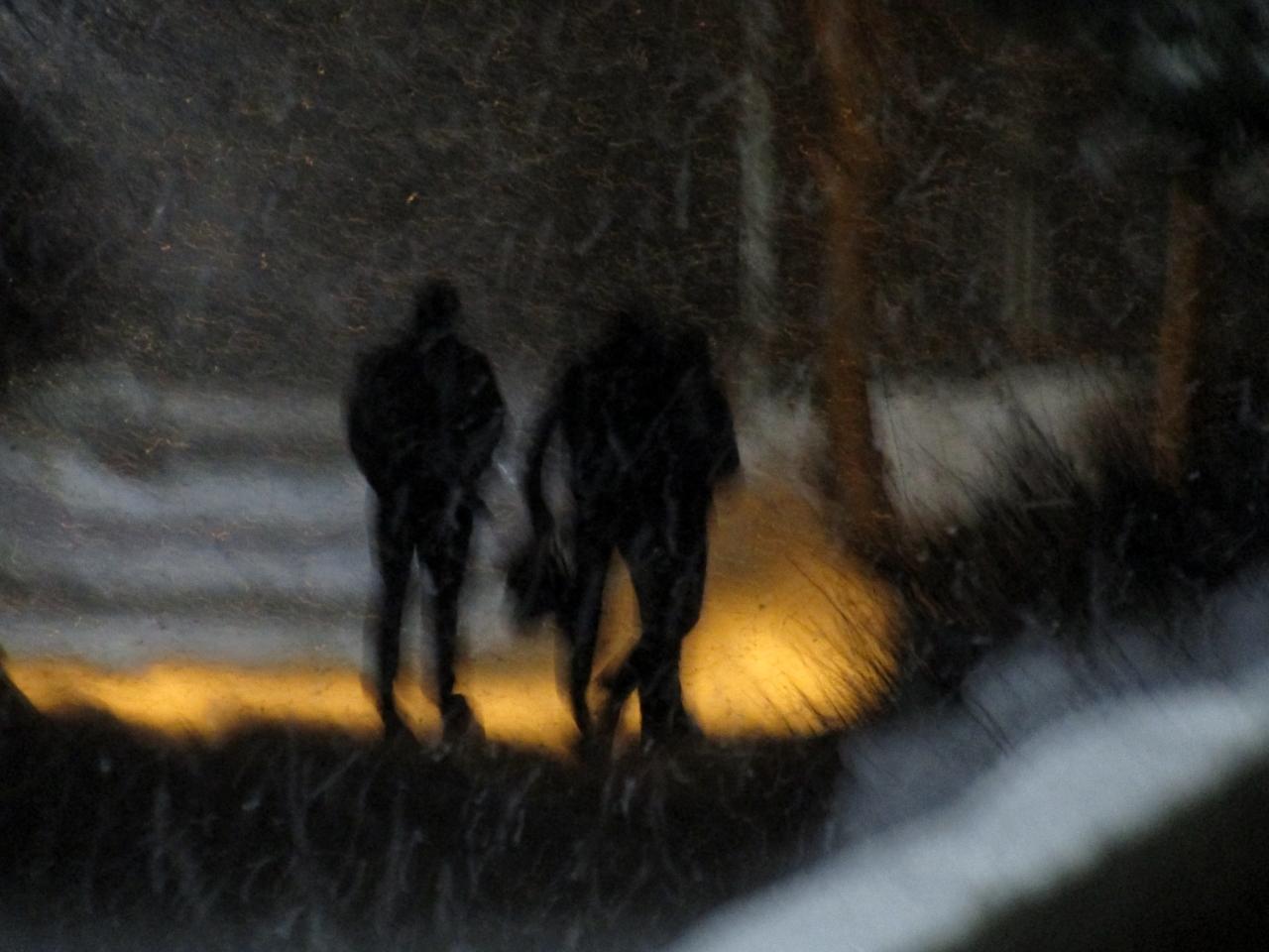 Ночью..в переулке..