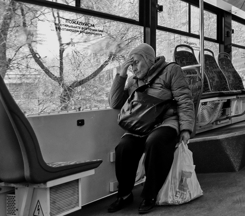 Старость - не радость.