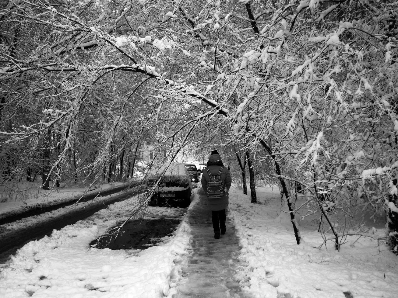 Просто наступила зима.