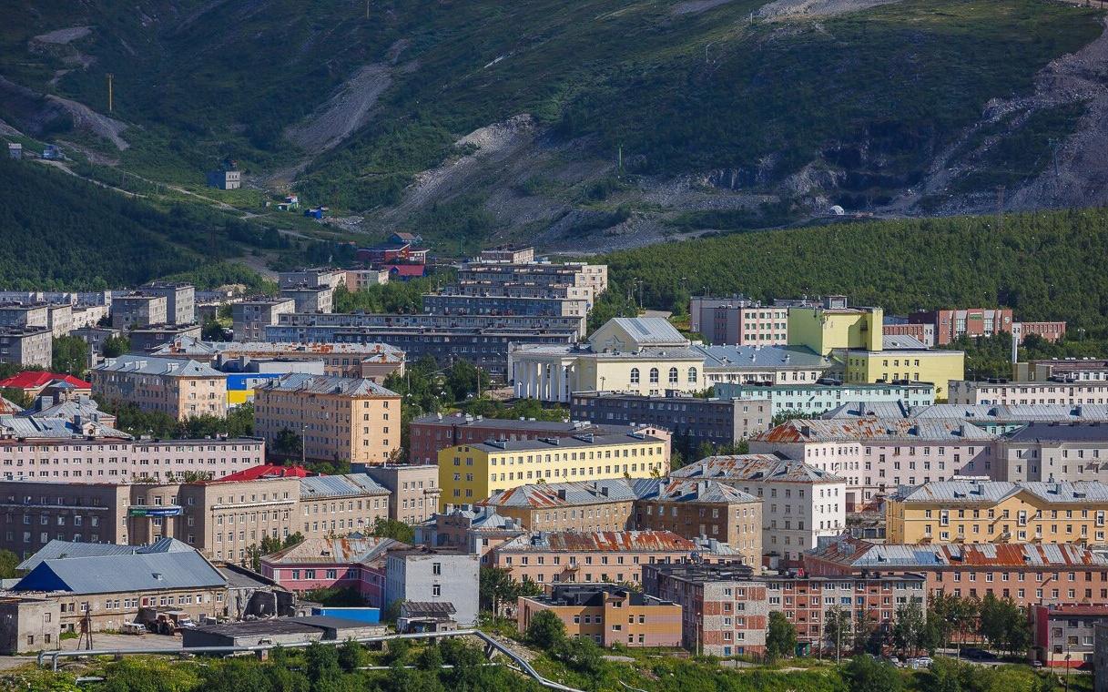 Город Кировск