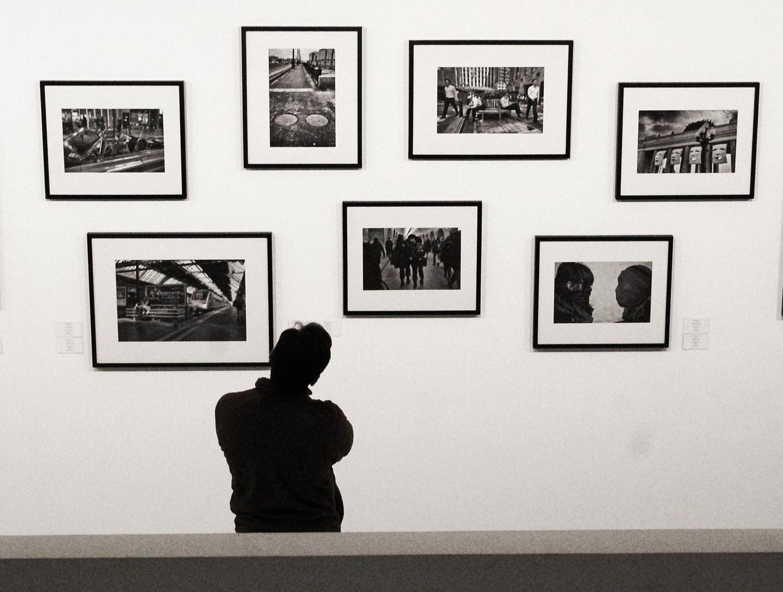 На выставке фотографии