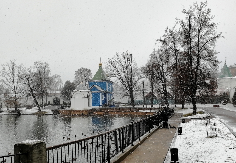 Монастырский пруд.