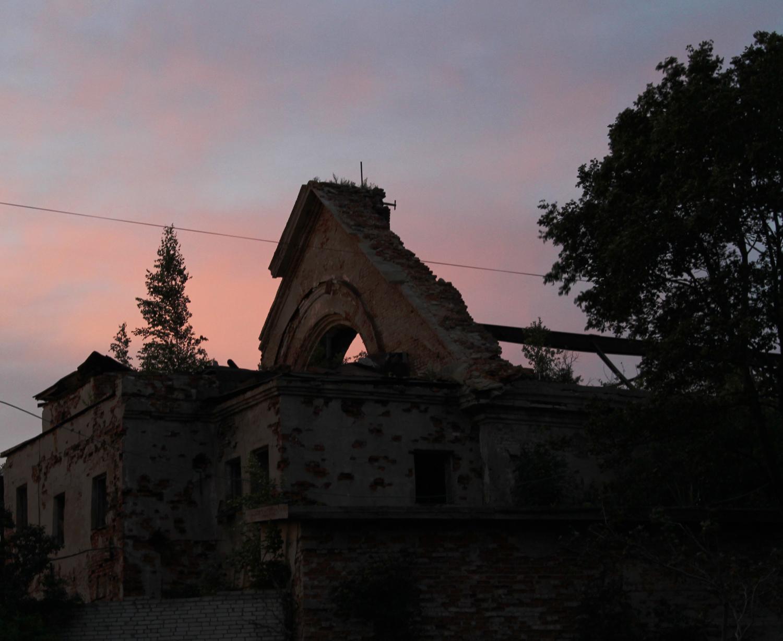 Старый храм.