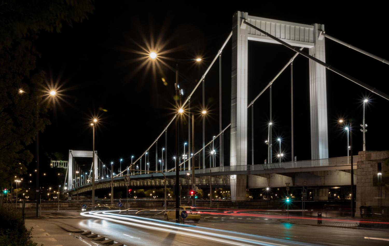 Мост Эржебет. Будапешт.