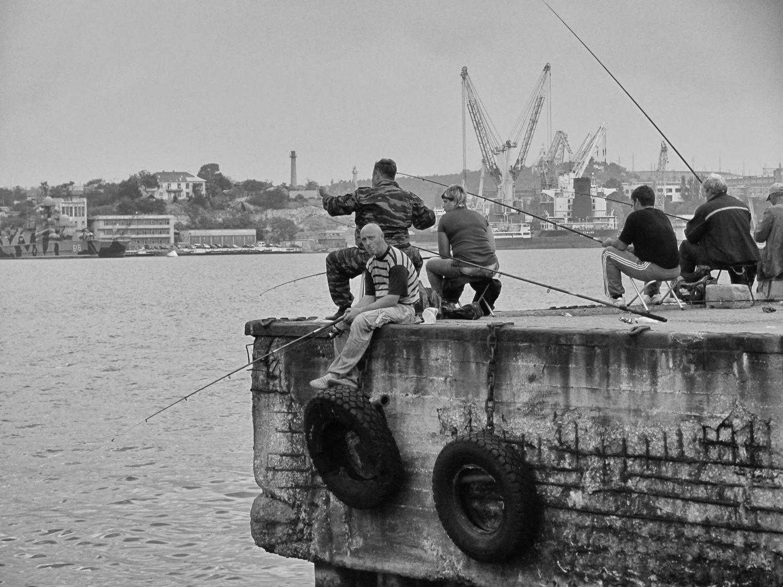 Городская рыбалка