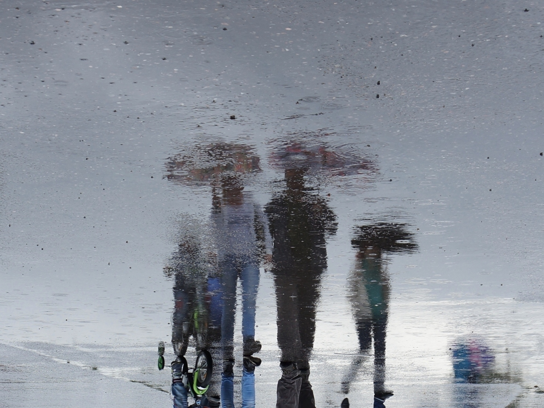 дождь с камнями
