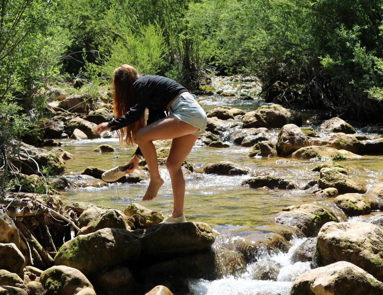 На горной речке