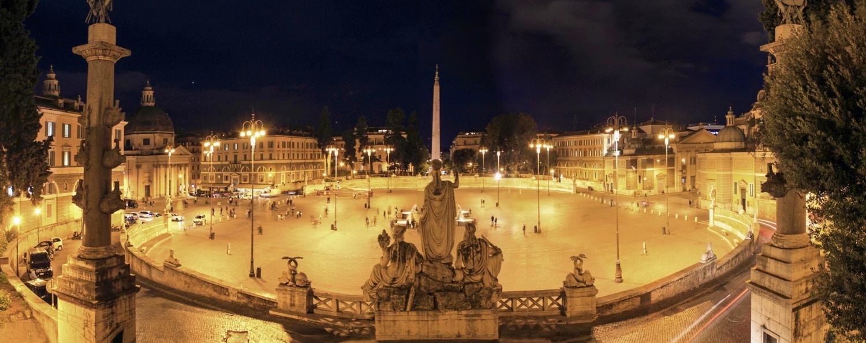 Рим вечерний