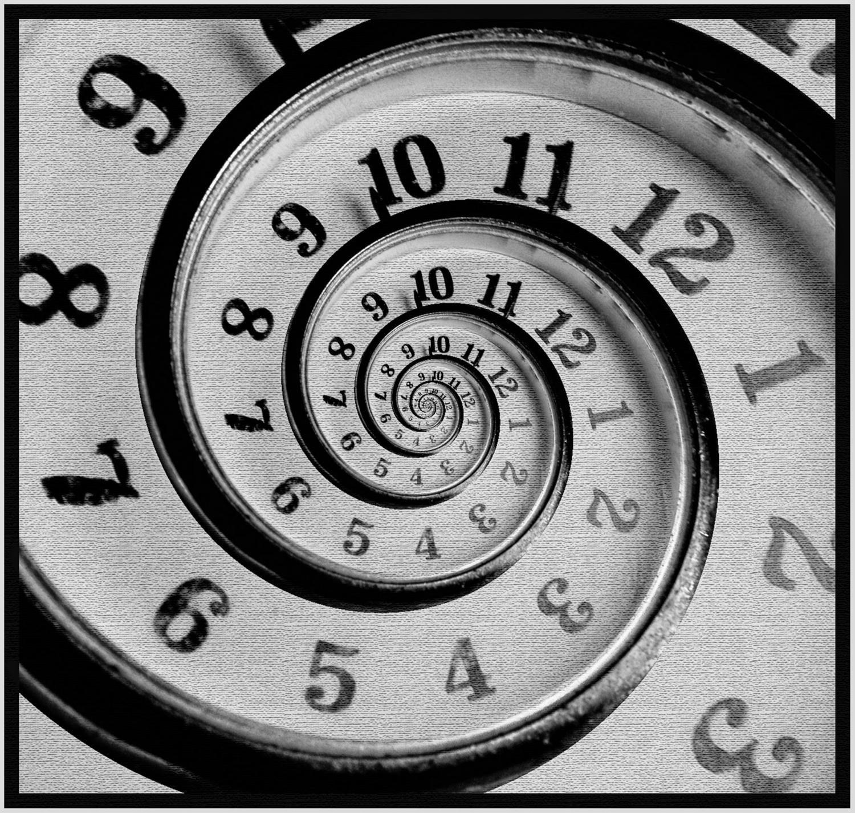 Время бесконечно.