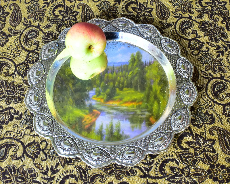 Наливное яблочко на серебряном блюдечке