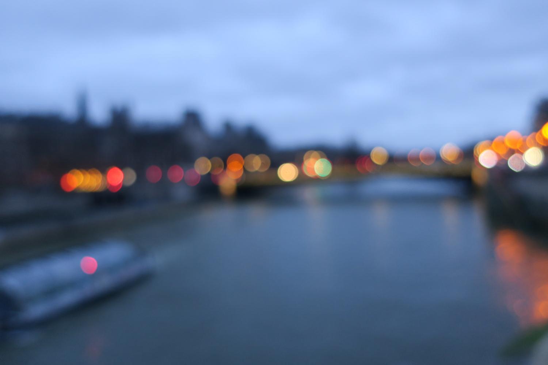Pont Notre-Dame. Impression.