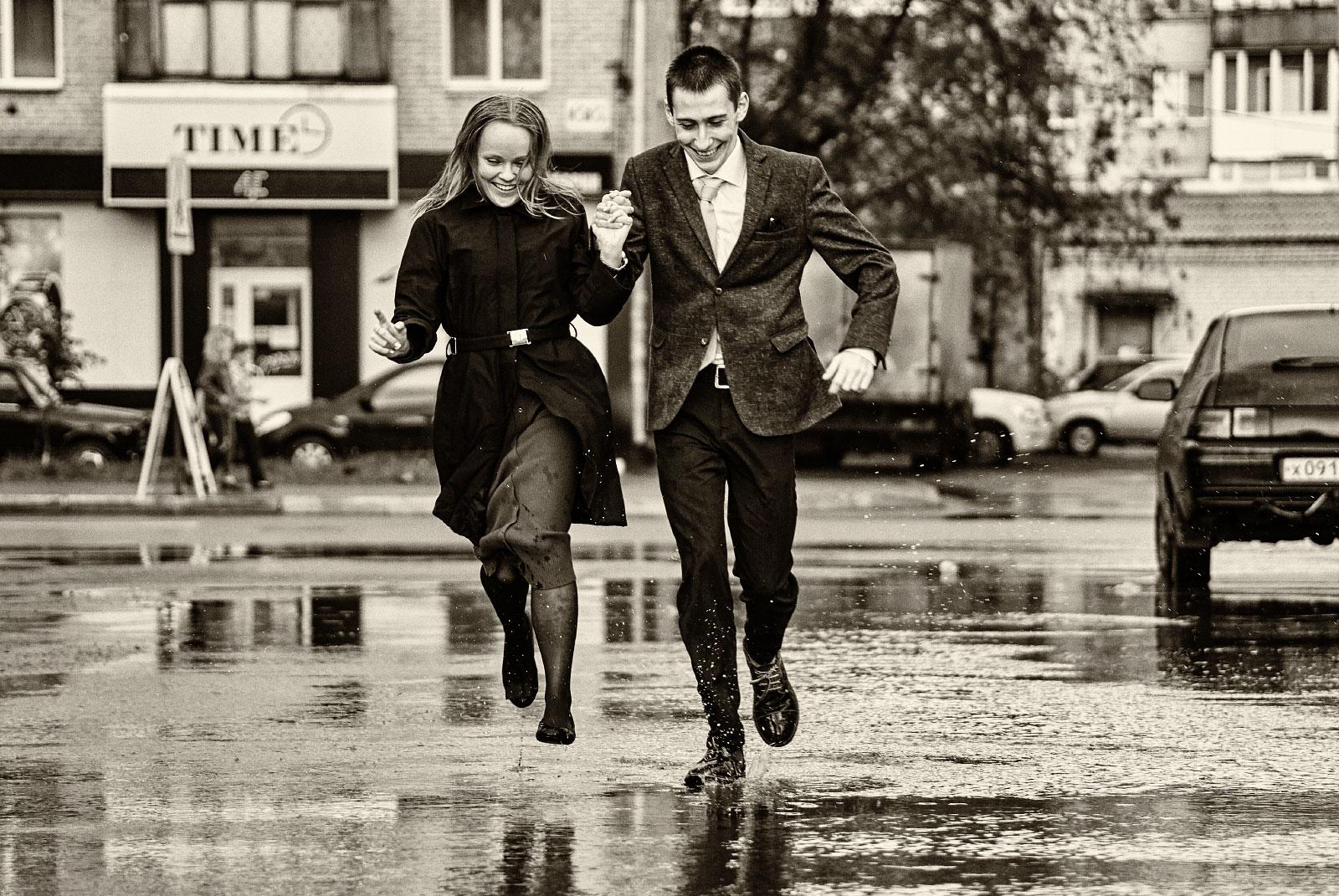 Любовь и дождь...