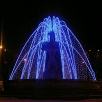 Зимний фонтан..К новому году))
