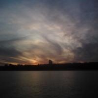 Закат в Волгограде.