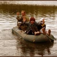 Трое в лодке..забыли собаку..