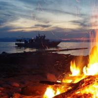 Огонь на берегу