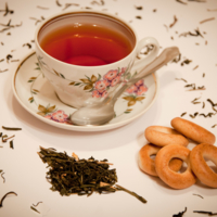 Стихи не пишутся без чая...