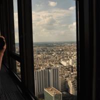 В зеркале Париж.