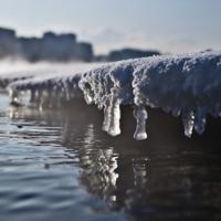 Ледяные слезы Москвы-реки