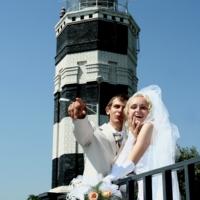 свадьба и маяк