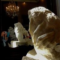 В музее Родена. Париж.