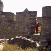 развалины крепости Еникале