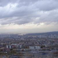 г.Новокузнецк - перед дождем