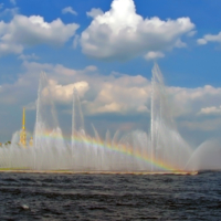 Радужный фонтан
