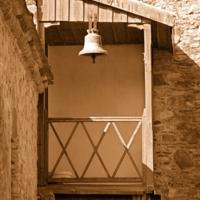 Балкон монастырской башни