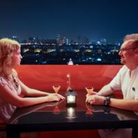 Автопортрет с женой и Бангкоком
