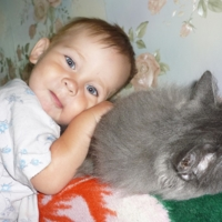 Я люблю свою котю!