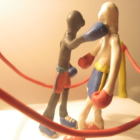пластилиновый бой