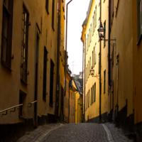 Золотая улица Стокгольма
