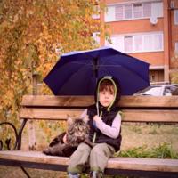 Иди, Кузьма, под зонт. ..