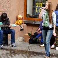 Уличный концерт