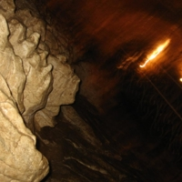 Пещера. Портреты вождей.