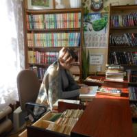 В районной библиотеке