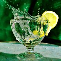 Лимонный  плеск