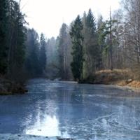 Ледяная река