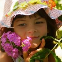 Девочка лето