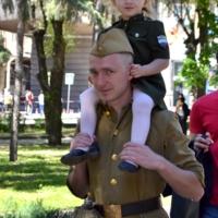 Я и папа - патриоты!