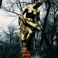 статуя видя дождя