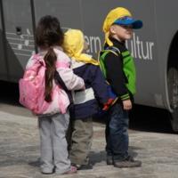 В автобус на  экскурсию.Вена.