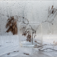 Февраль дождём на окнах рисует