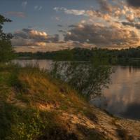 Вечер на реке Сож